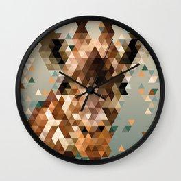 Giraffe - Polygon Wall Clock