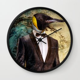 Gentlemen Wall Clock