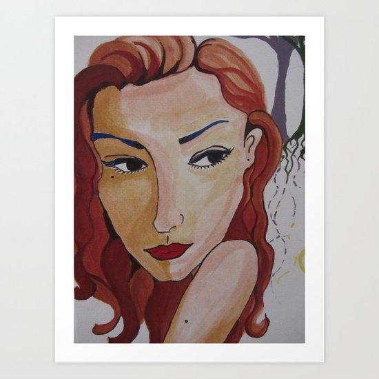 Jeanne Art Print