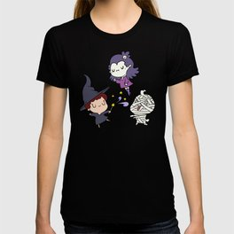 Halloween Little Witch and Friends T-shirt