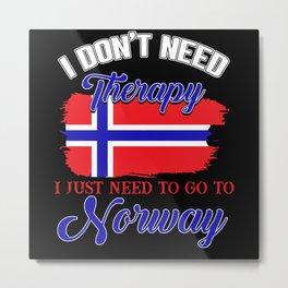 Norway, Scandinavia, Vikings Metal Print