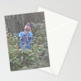 LONELY MUSICIAN  Stationery Cards