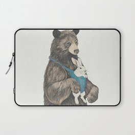 the bear au pair Laptop Sleeve