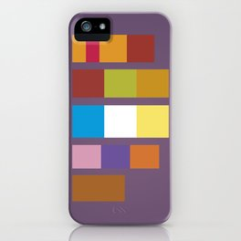Minimal Scooby Doo Gang iPhone Case