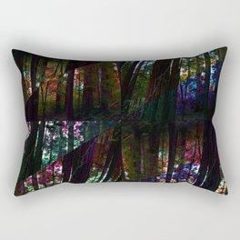 Redwoods Kaleidoscope Rectangular Pillow