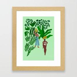 Banana Girls Framed Art Print