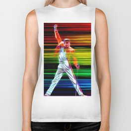 Freddie in Color Biker Tank