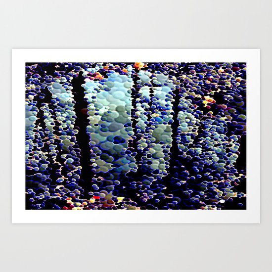 abstract yy Art Print