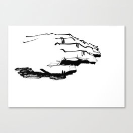 Nonpossessive Canvas Print