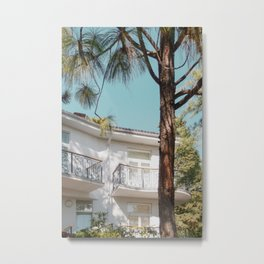 White residence Metal Print