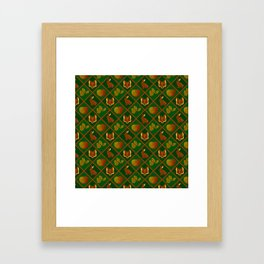 Of Foxes and Hares Framed Art Print