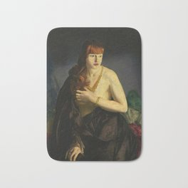 Nude with Red Hair 1920 by George Bellows Bath Mat