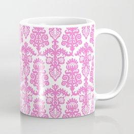 Floral Pattern Pink Coffee Mug