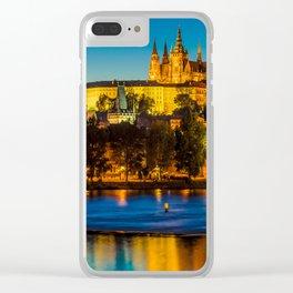 PRAGUE 002A Clear iPhone Case