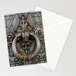 the door keeper Stationery Cards