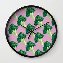 broccoli Wall Clock