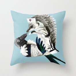 Thanks for your help (GREFA) Throw Pillow