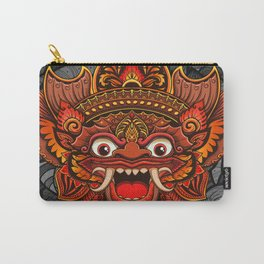 Barong, Balinese mask, Bali mask #2 Carry-All Pouch