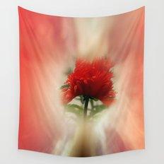 window curtain - poppylove Wall Tapestry