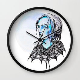 Of the Night Wall Clock