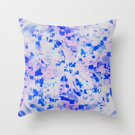Daily Design 28 - Orchid Statistics Throw Pillow