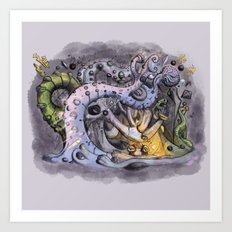 The Forest of Improbable Shapes Art Print