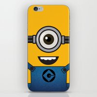minion iPhone & iPod Skins featuring MINION! by Dee9922