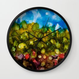 Puna Wall Clock