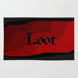 Loot: Color Crimson Rug