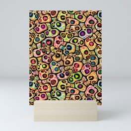 Calaveras del Día de los Muertos. Mini Art Print