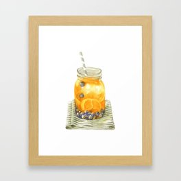 Infuse Water Framed Art Print