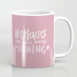 Mercy Morning x Rose Coffee Mug