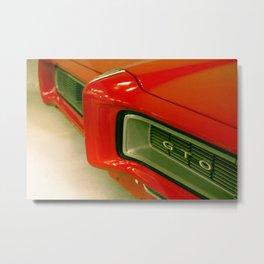 Red GTO Metal Print