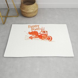 Furry Roadster Rug