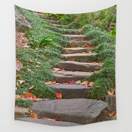 Arboretum Stepping Stones Wall Tapestry
