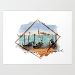 Venice San Marco Art Print
