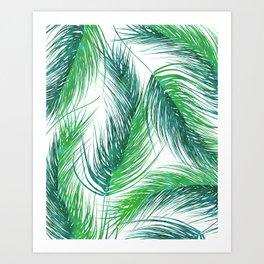 Bed Head Palm | #society6 #decor #buyart Art Print