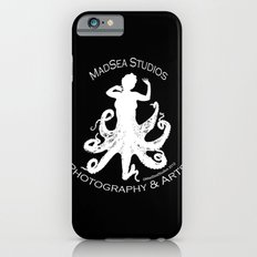 MadSea Nymph, white on black Slim Case iPhone 6s
