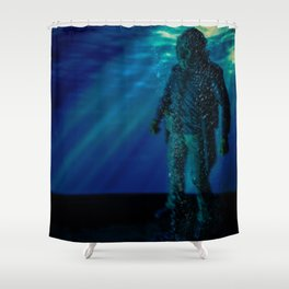 Only way to kill Jason is to send him back to his original resting place where he drowned in 1957... Shower Curtain