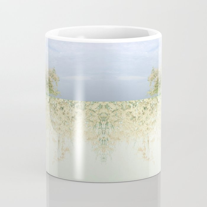 landscape 004c: 藍の空 (indigo sky) Coffee Mug