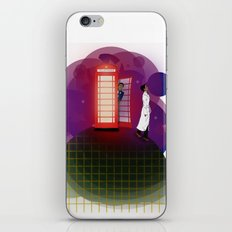 Community Inspector Spacetime  iPhone & iPod Skin