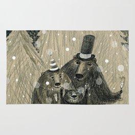 Happy Bear New Year! Rug