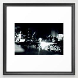 Chinatown Bar Framed Art Print