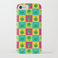 popart iPhone & iPod Cases featuring Popart Broccoli by XOOXOO