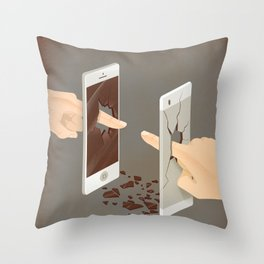 The Real Touch Throw Pillow