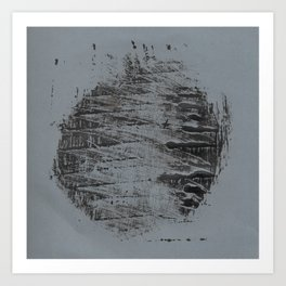 Monotype #3 Art Print