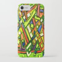 oakland iPhone & iPod Cases featuring Uptown Oakland by Octavious Sage