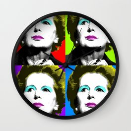 Maggie Monroe x 4 Wall Clock
