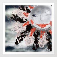 Crazy 'bout Suns Art Print