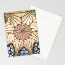 Chapter House at York Minster Stationery Cards